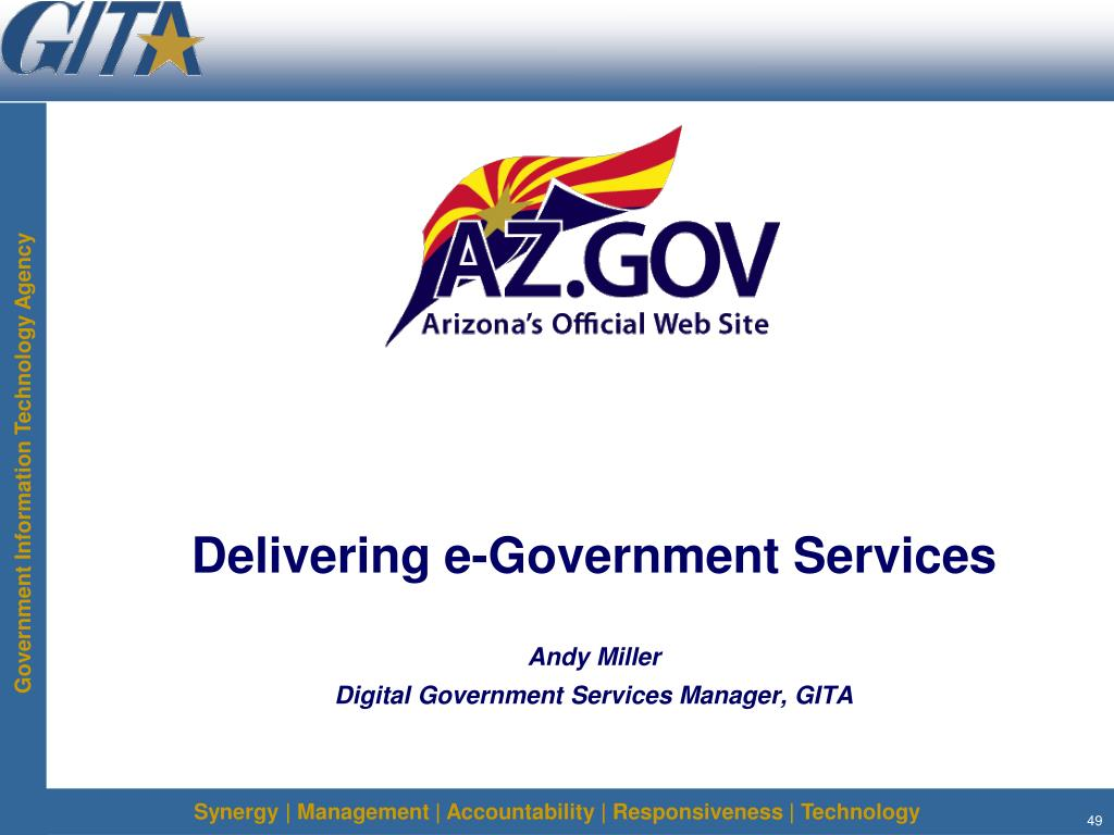 Delivering e-Government Services