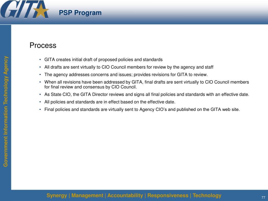 PSP Program