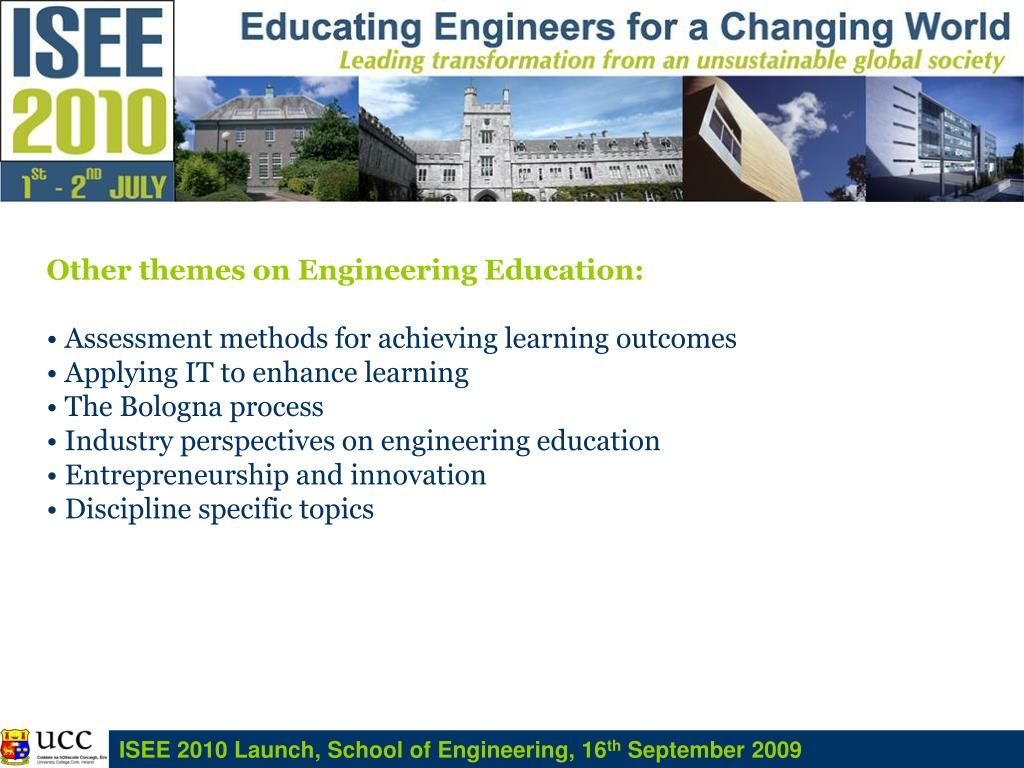 Other themes on Engineering Education: