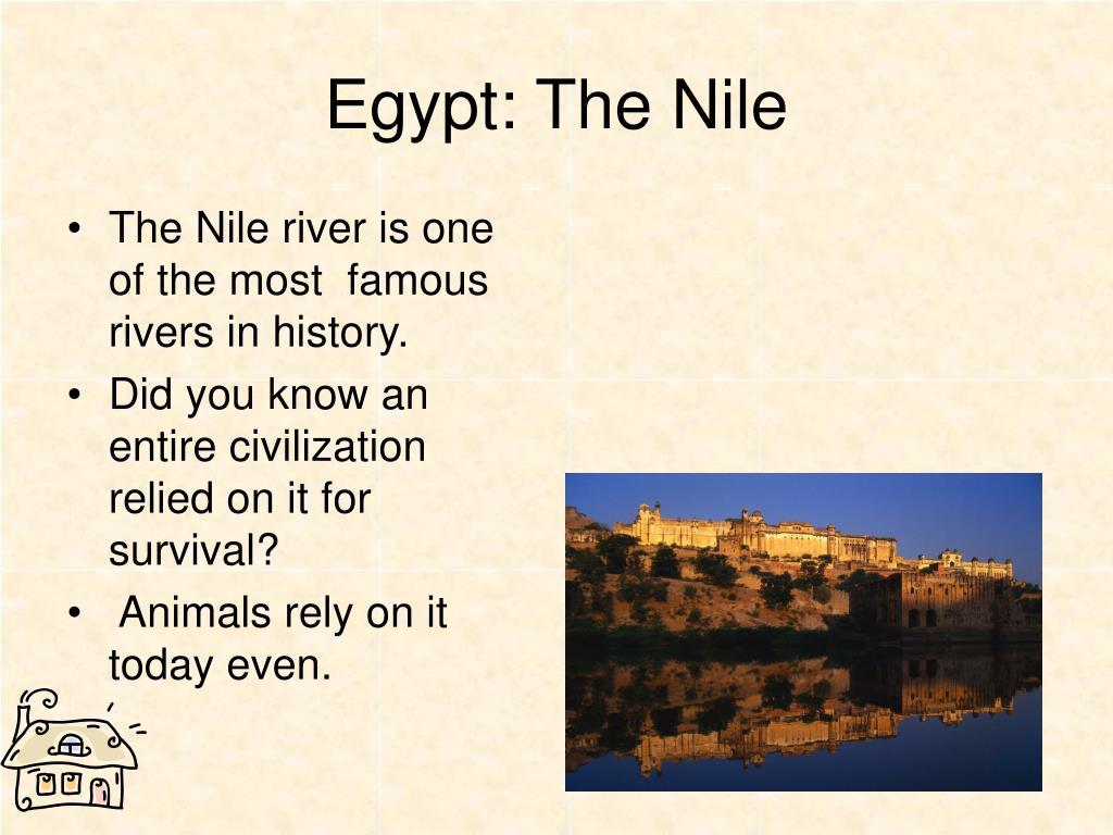 Egypt: The Nile