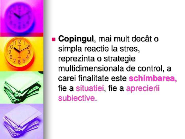 Copingul