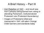 a brief history part iii