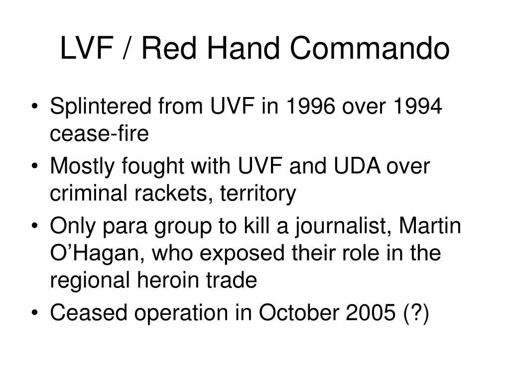 LVF / Red Hand Commando
