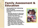 family assessment education
