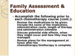 family assessment education1