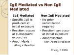 ige mediated vs non ige mediated
