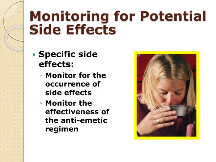 Monitoring for Potential Side Effects