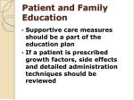 patient and family education1
