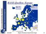 base quellen europe