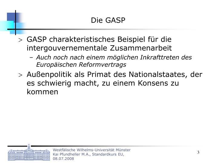 Die GASP