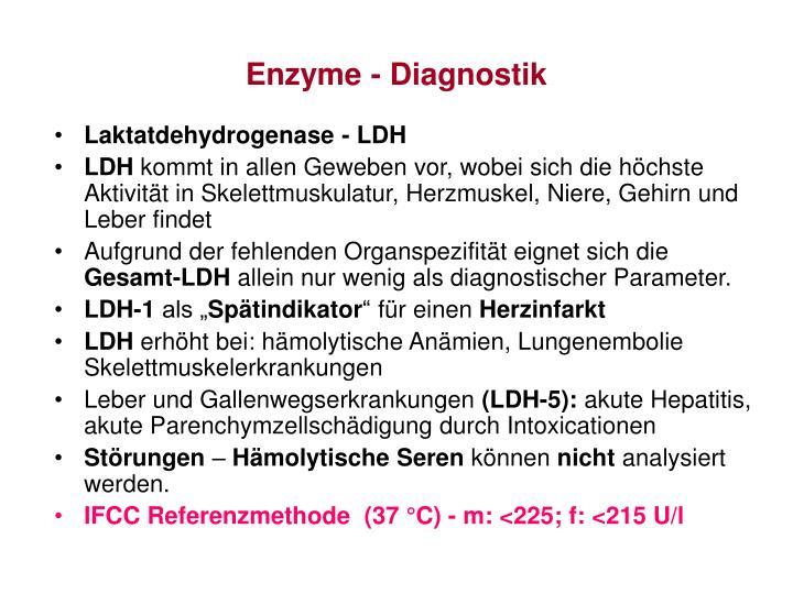 Enzyme - Diagnostik
