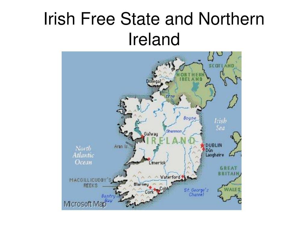 Irish Free State and Northern Ireland