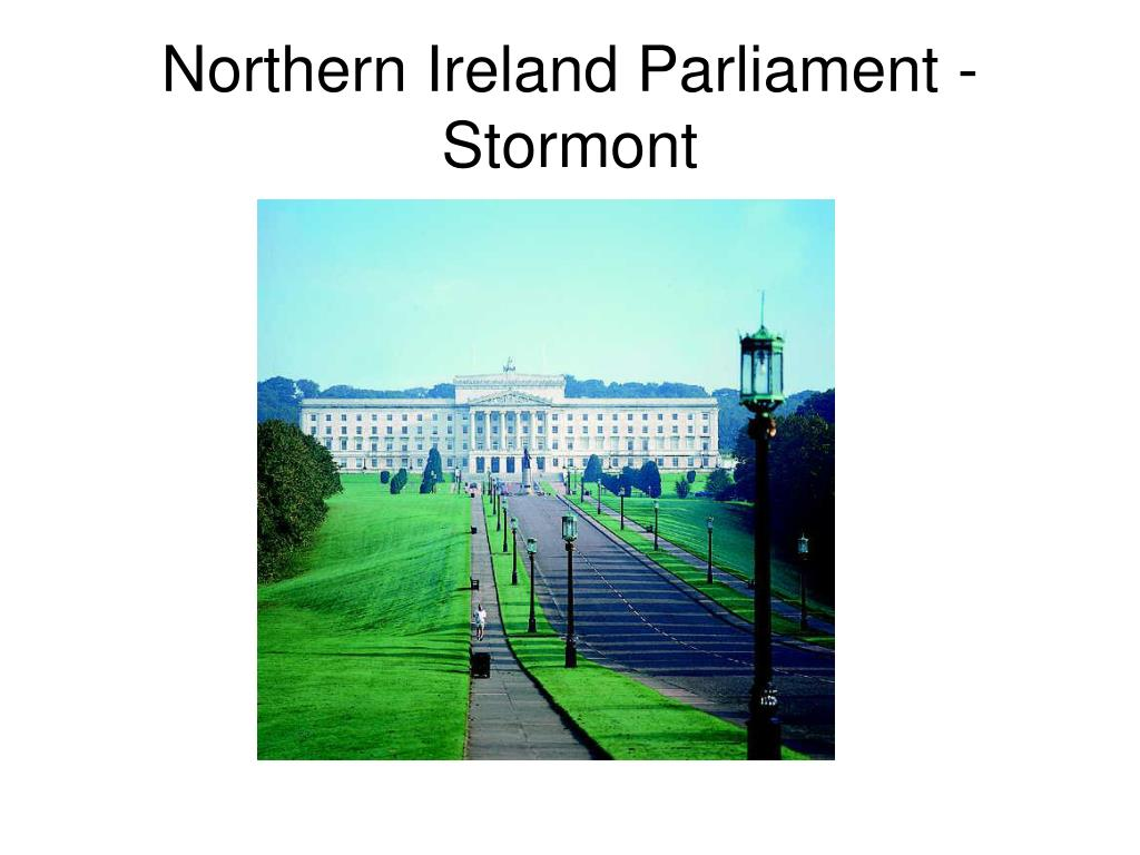 Northern Ireland Parliament - Stormont