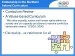 citizenship in the northern ireland curriculum