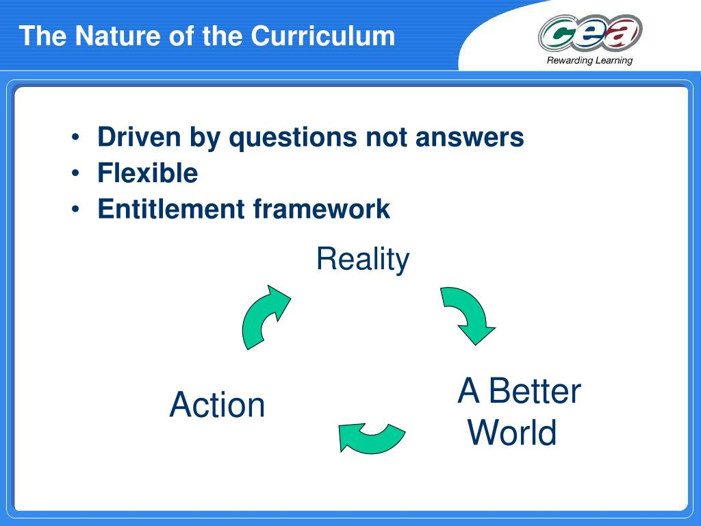 The Nature of the Curriculum