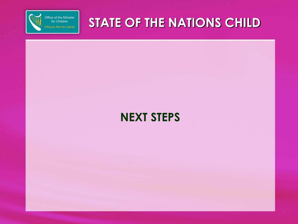 STATE OF THE NATIONS CHILD