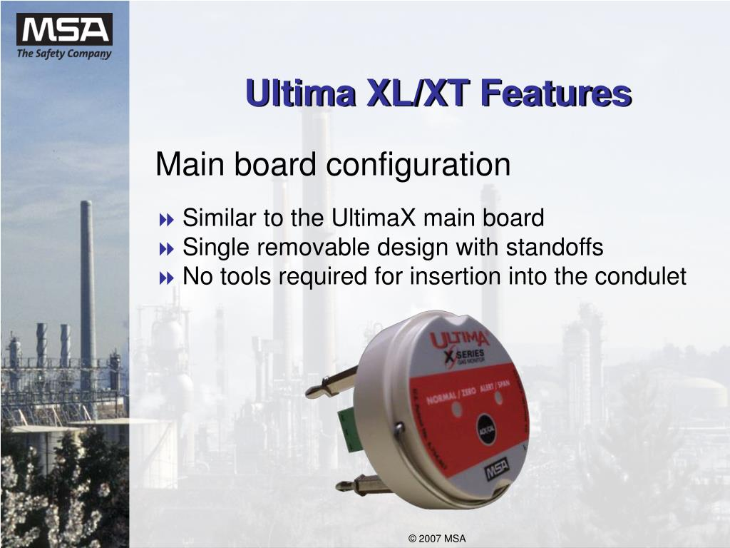 Ultima XL/XT Features