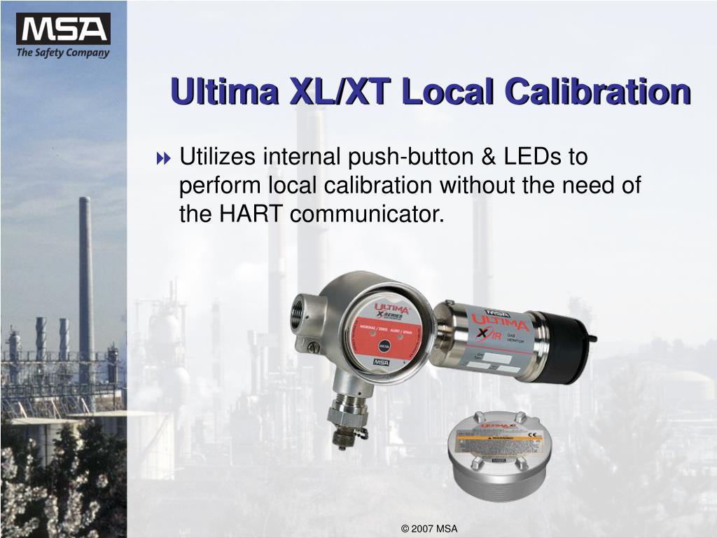 Ultima XL/XT Local Calibration