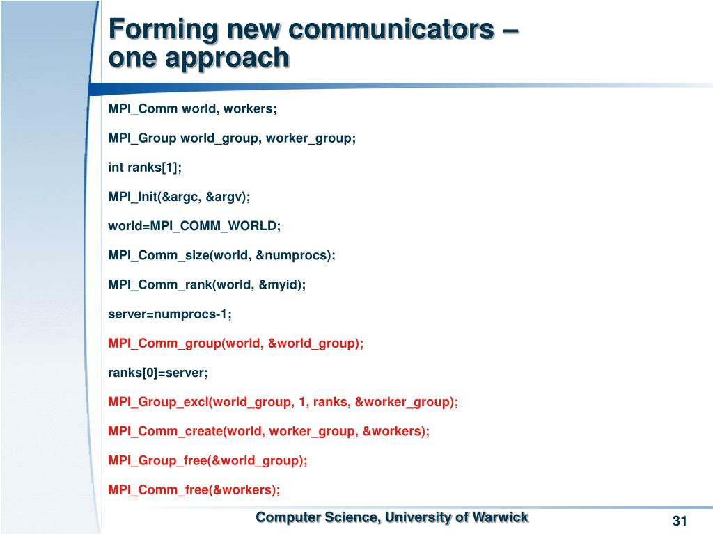Forming new communicators –