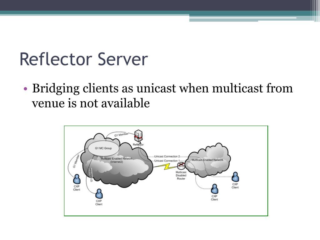 Reflector Server