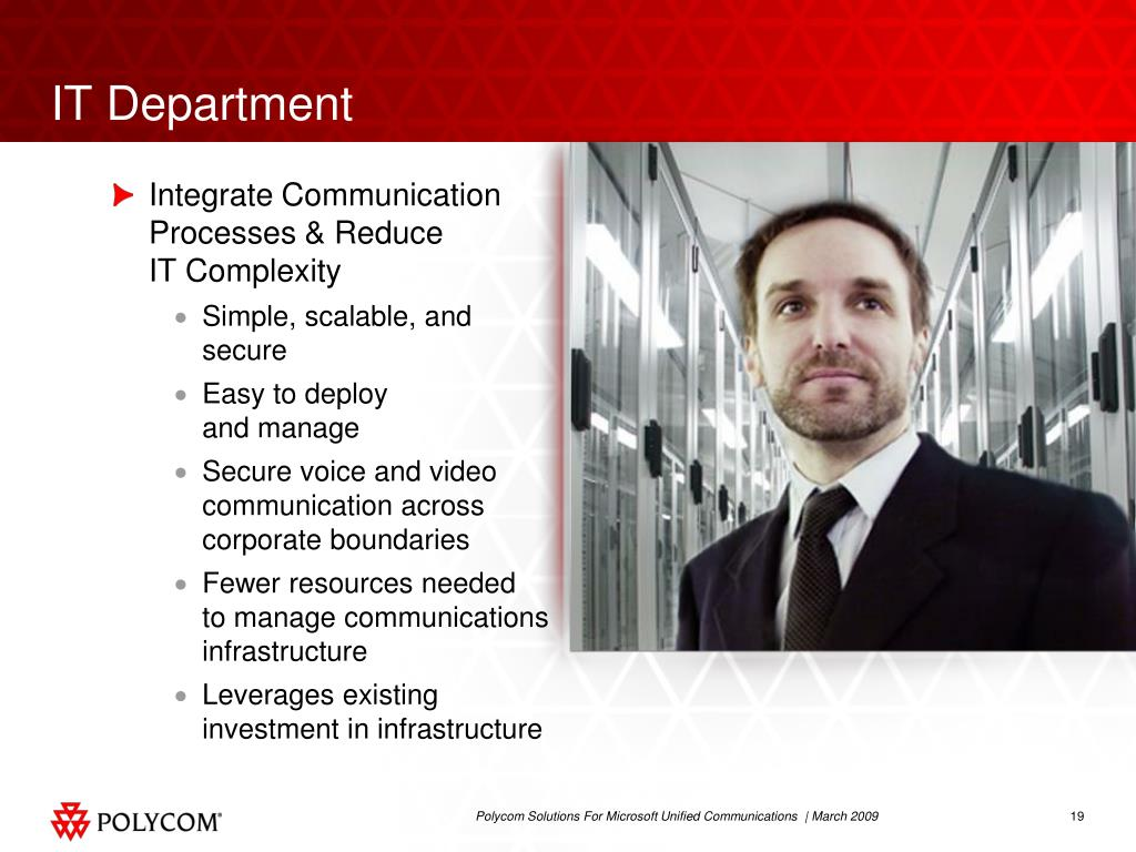 Integrate Communication Processes & Reduce