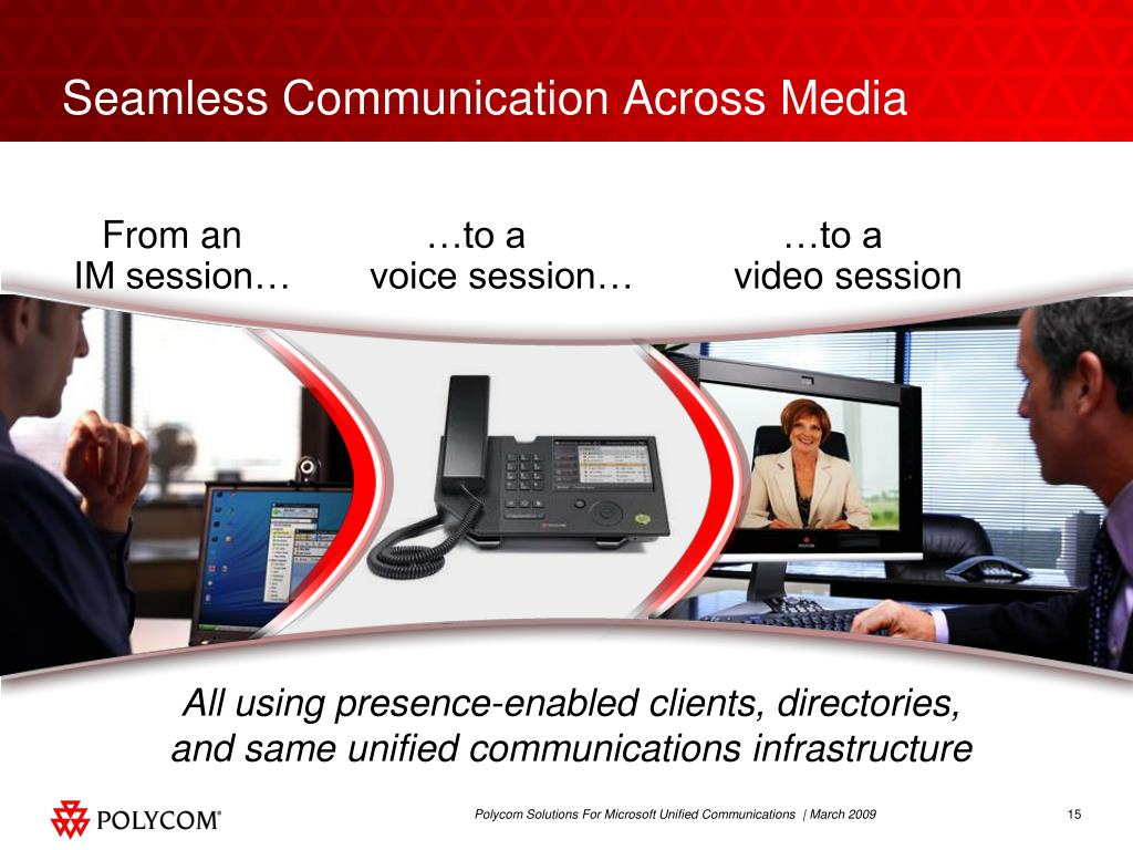 Seamless Communication Across Media