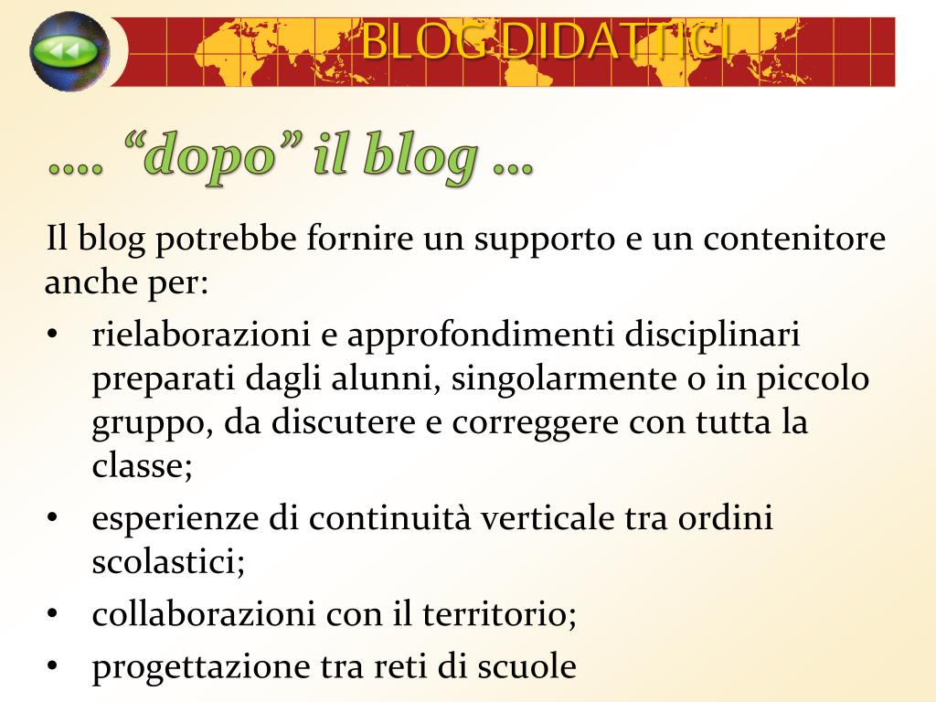 """…. """"dopo"""" il blog …"""