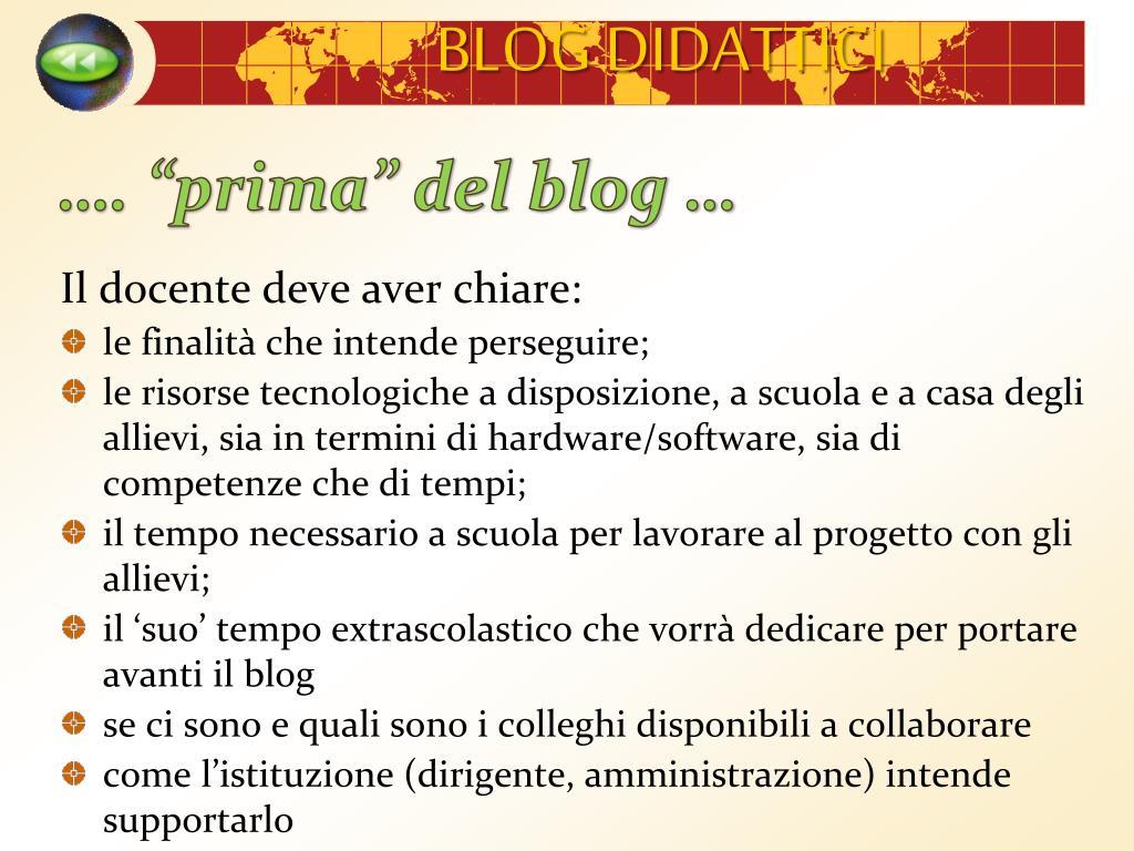 """…. """"prima"""" del blog …"""