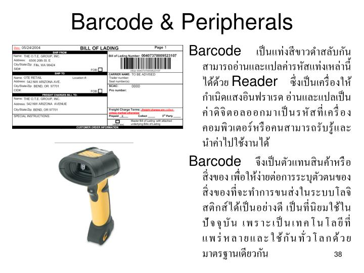 Barcode & Peripherals