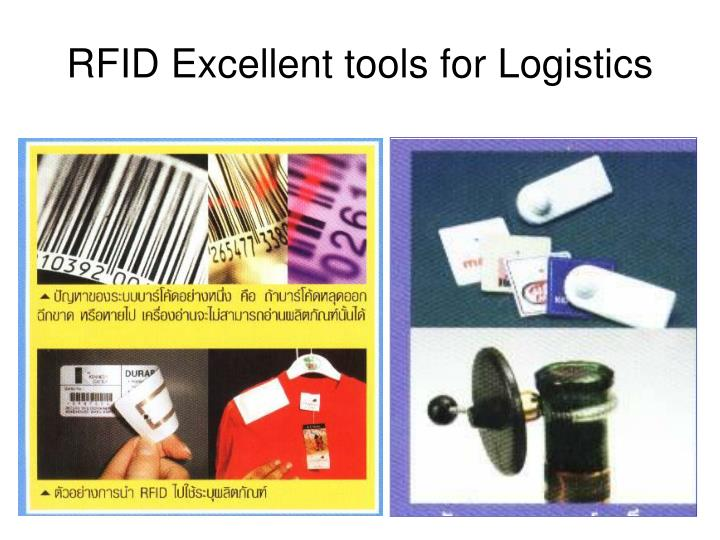 RFID Excellent tools for Logistics