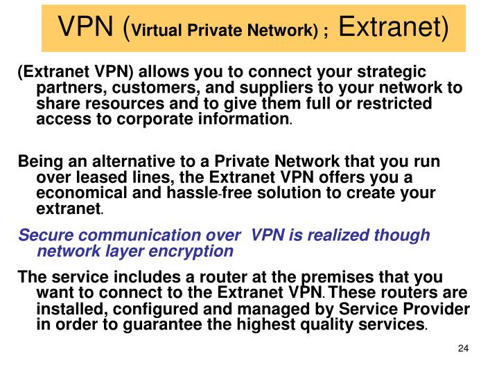 VPN (