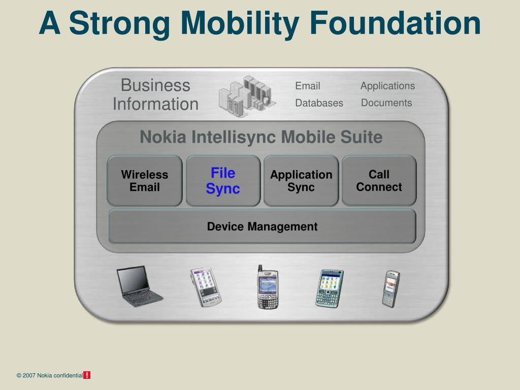 A Strong Mobility Foundation