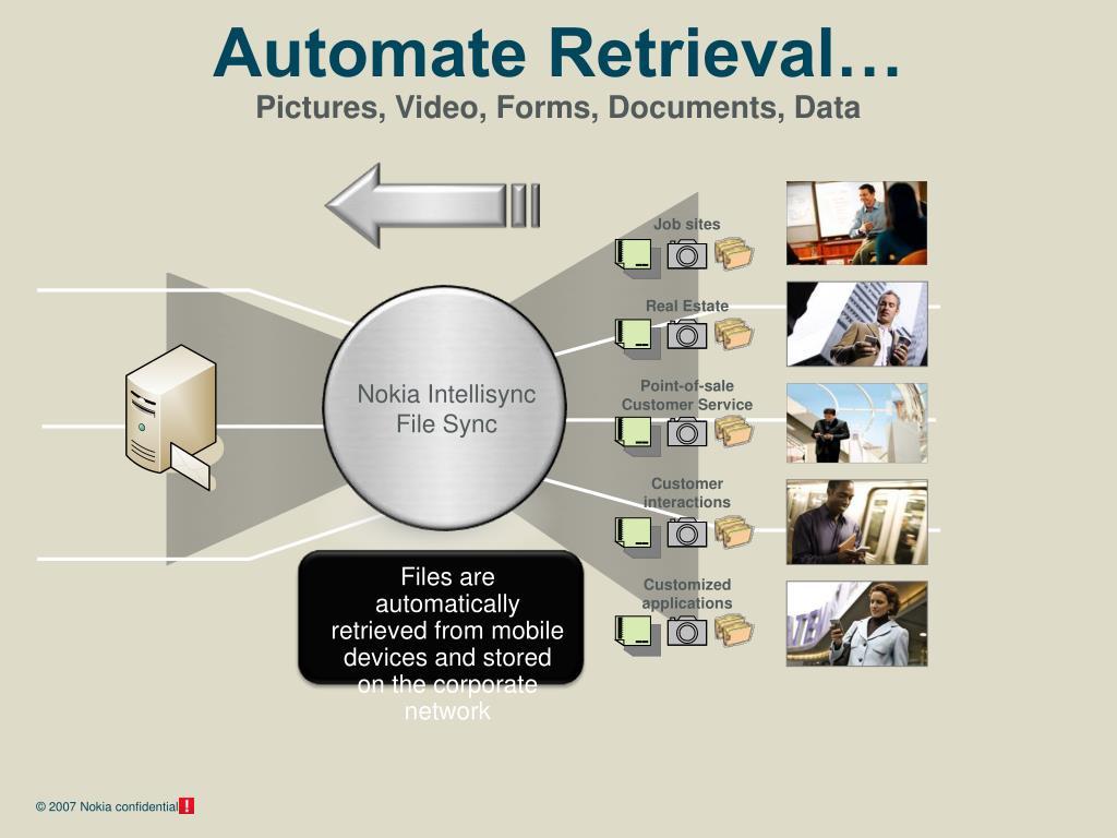 Automate Retrieval…