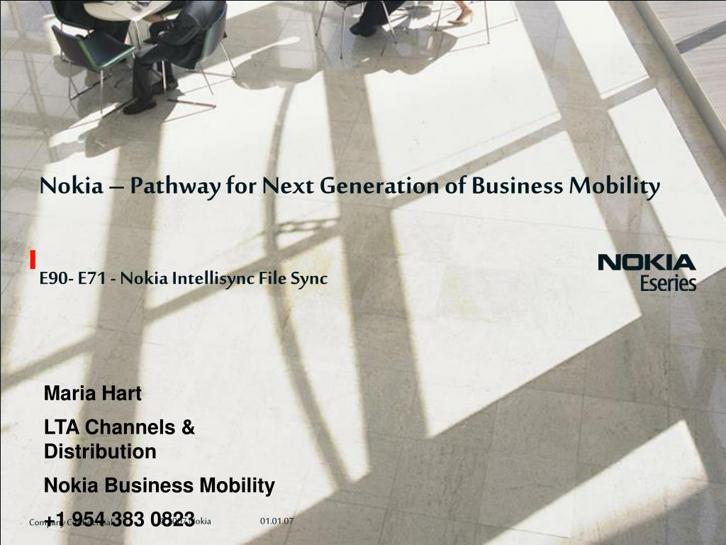 Nokia – Pathway for Next Generation of Business Mobility