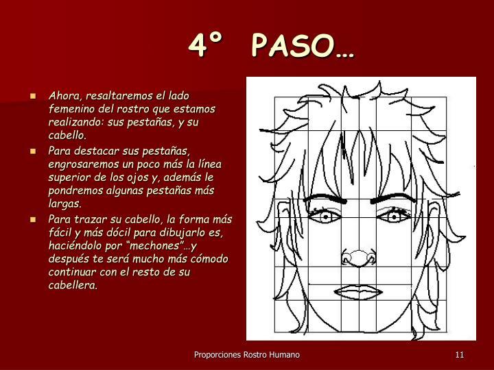 4°  PASO…