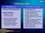 helpful uc tools