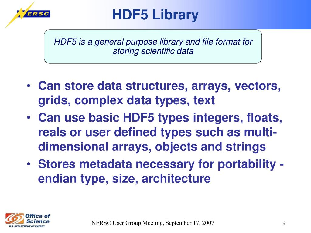 HDF5 Library