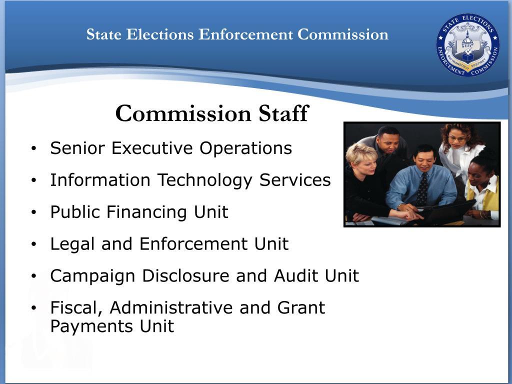 Senior Executive Operations