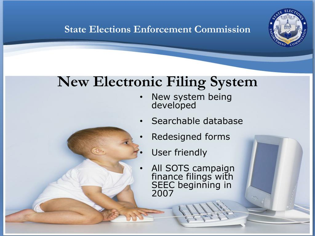 New Electronic Filing System
