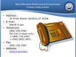 state elections enforcement commission contact information