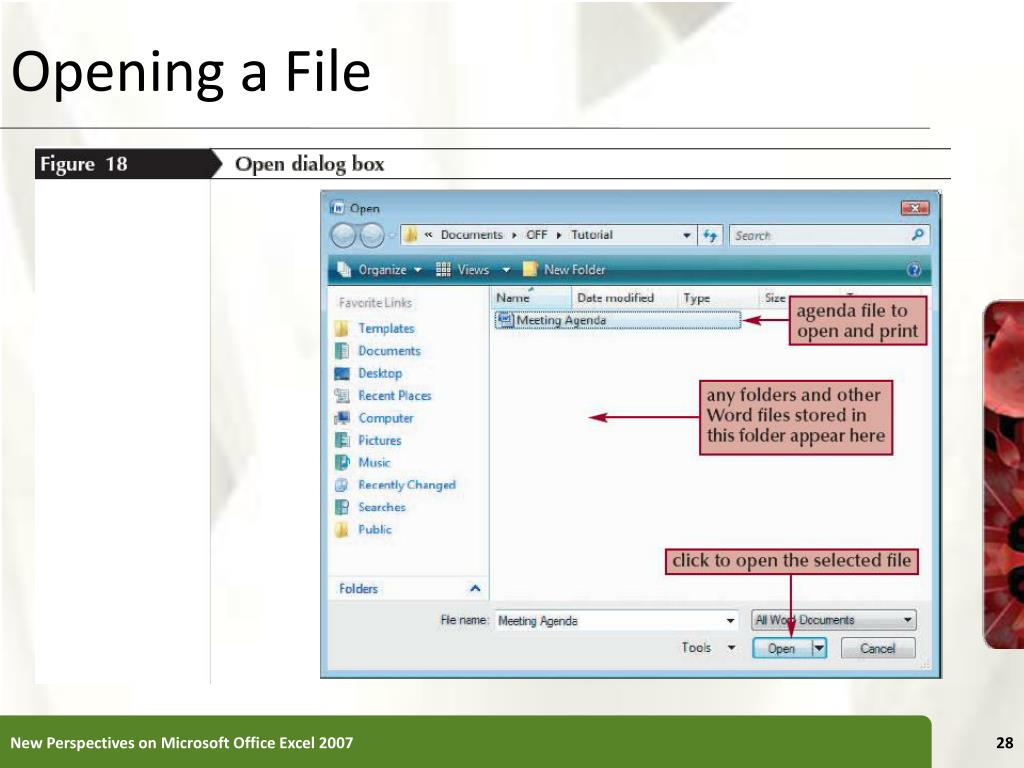 Opening a File