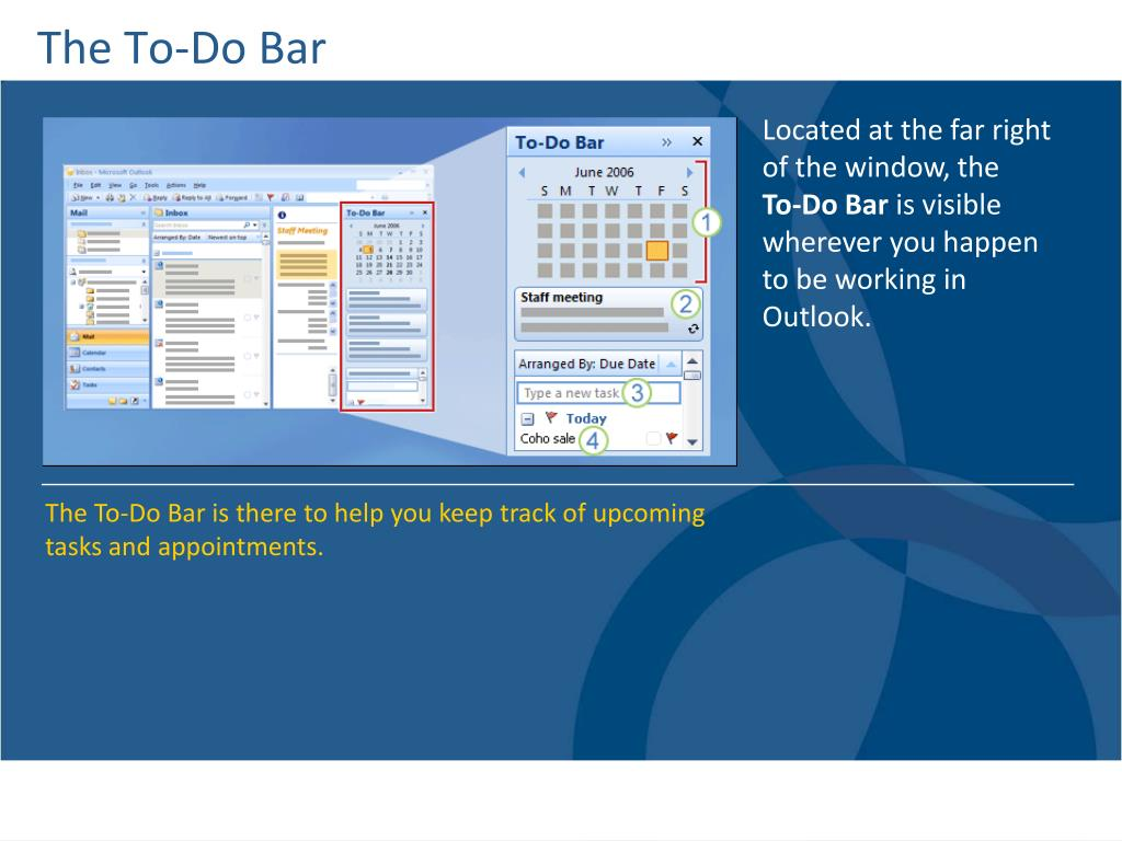 The To-Do Bar