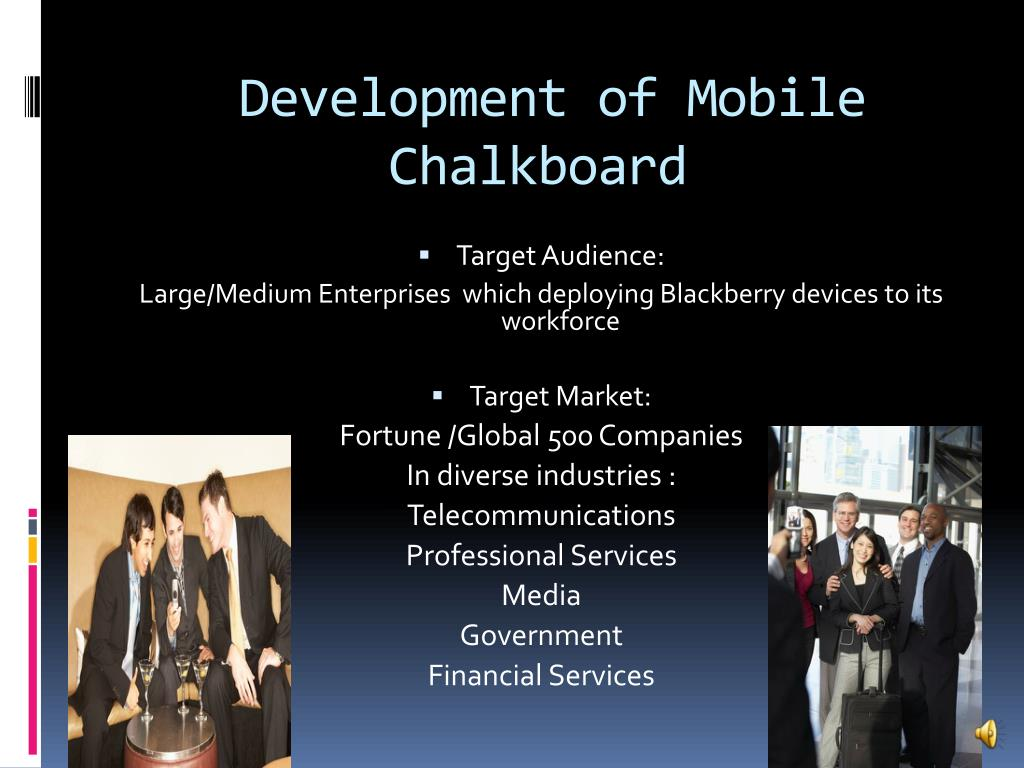 Development of Mobile Chalkboard