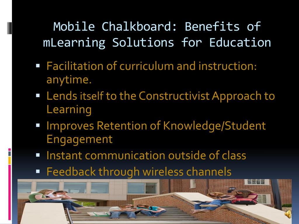 Mobile Chalkboard: Benefits of