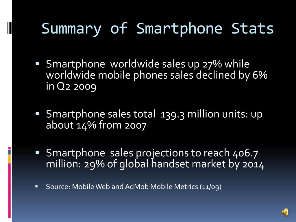 Summary of Smartphone Stats