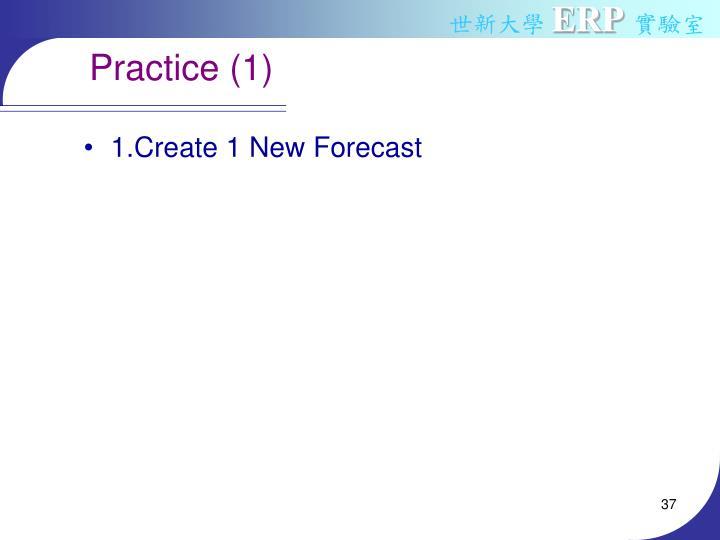 Practice (1)