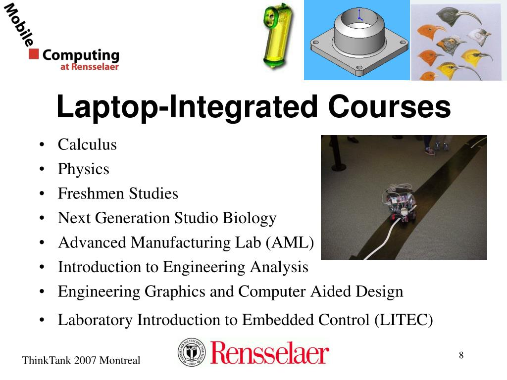 Laptop-Integrated Courses
