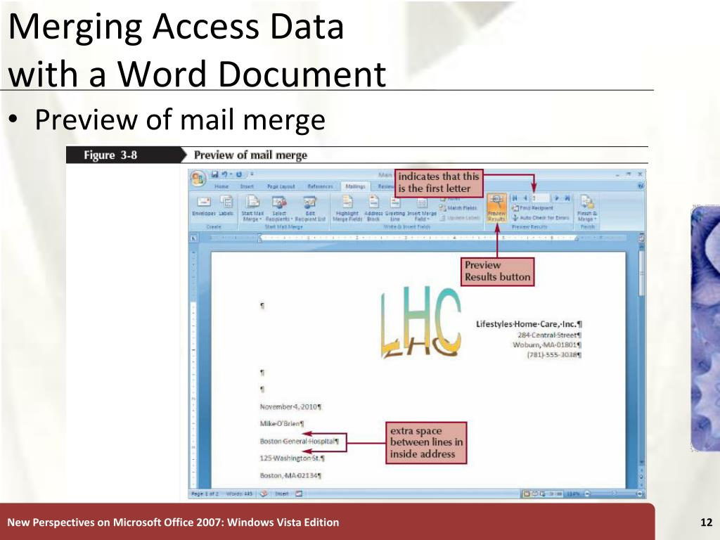Merging Access Data
