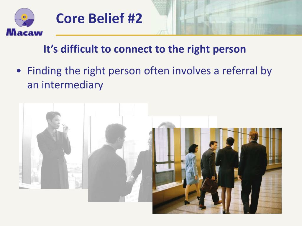 Core Belief #2
