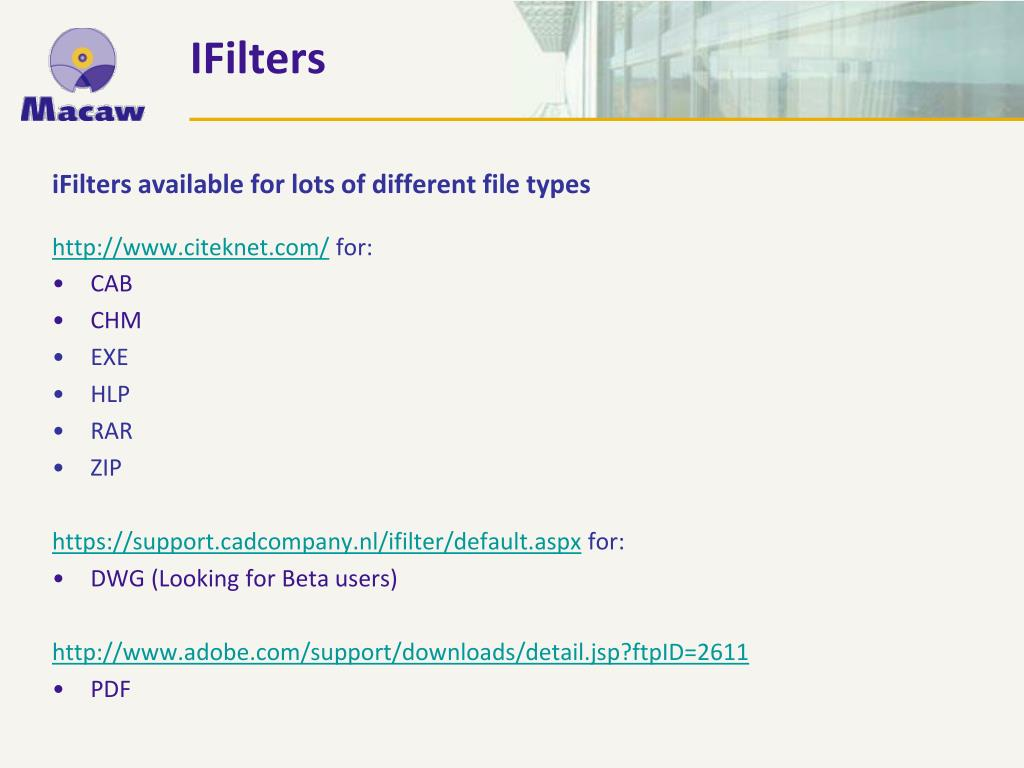 IFilters